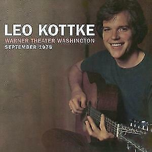 Warner Theater Washington September 1978 von Leo Kottke (2016)