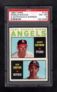 1964-TOPPS-127-ANGELS-ROOKIE-STARS-PSA-8-NM-MT-CENTERED