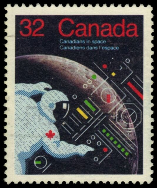 CANADA 1046 - Canadians in Space