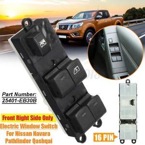 Electric-Power-Master-Window-Switch-For-Nissan-Navara-D40-2007-2015-25401-EB30B
