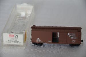 N-Scale-MICRO-TRAINS-20436-2-CANADIAN-PACIFIC-40-039-Single-Door-Box-Car-CP-51059