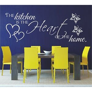 Spruch-WANDTATTOO-The-kitchen-is-the-heart-of-the-home-Wandsticker-Aufkleber-3