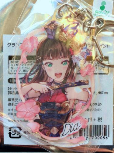 Sunshine! × Grand Blue Fantasy Acrylic Key Ring Dia Hanamaru Mari.. Love Live