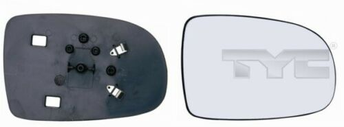 TyC cristal espejo exterior 325-0025-1 para opel corsa Tigra x01 derecha convexo