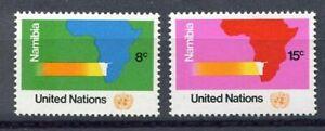 19207) UNITED NATIONS (New York) 1973 MNH** Nuovi** Namibia 2v