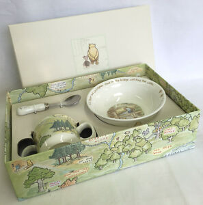2f196987a090 Winnie The Pooh Gift Set Bowl   Mug   Spoon Classic Collection DII60 ...