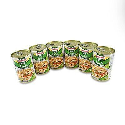 (8,54€/1l) BIO Ravioli vegetarisch 6er Pack (6 Dosen à 400 ml)