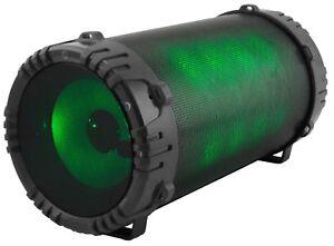 QFX BT-156 LED LIGHT BLUETOOTH SPEAKER