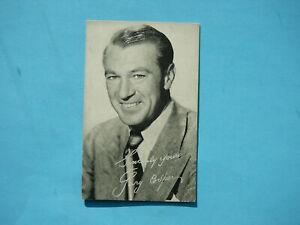 1947-66-TELEVISION-amp-ACTORS-EXHIBIT-CARD-PHOTO-GARY-COOPER-NICE-EXHIBITS