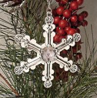 Dog-photo Snowflake Ornament Gift Box/tag Free U.s. Shipping
