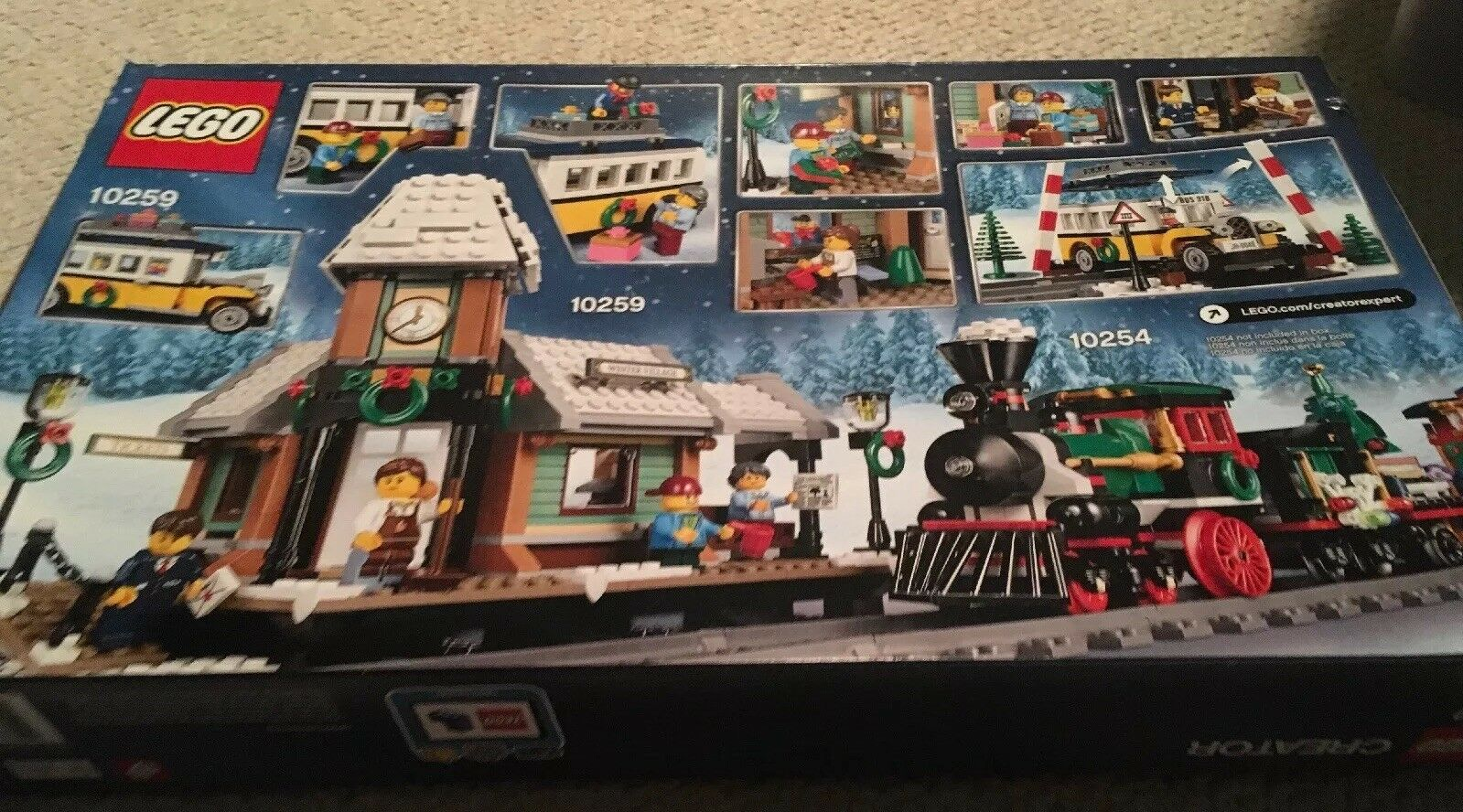 New LEGO Creator Expert Winter Village Station 10259