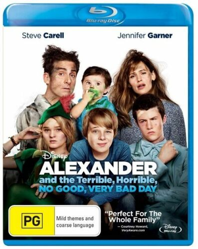 1 of 1 - Alexander And The Terrible, Horrible, No Good, Very Bad Day (Blu-ray, 2015) NEW