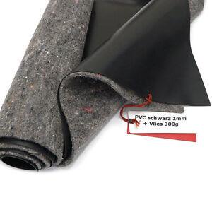 sika premium pvc teichfolie 1mm schwarz incl vlies v 300 gute markenqualit t ebay. Black Bedroom Furniture Sets. Home Design Ideas