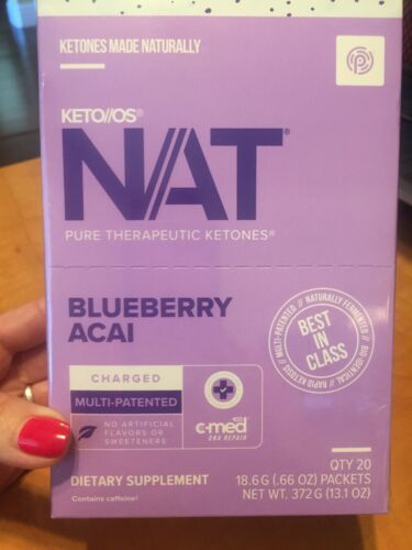 Charged 10 OTG Packages Pruvit Ketones FREE SHIP Blueberry Acai