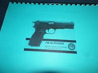 Fm Hi-power, Modelo, M 90 Model, Owners Manual, 16 Pages