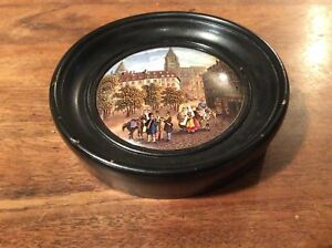 19th century framed pot lid