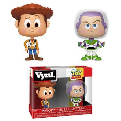 WOODY /& BUZZ LIGHTYEAR Funko Vynl New Figures 2-Pack Disney/'s A Toy Story