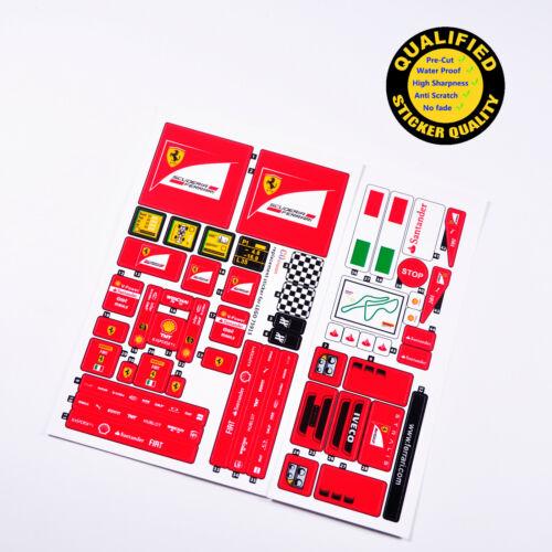 top quality sticker. CUSTOM sticker for LEGO 75913 F14T/&Scuderia Ferrari Truck