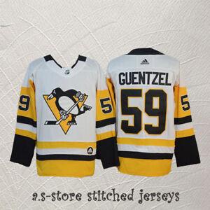 888ecad34d8 Jake Guentzel  59 Pittsburgh Penguins White Men s Guentzel Hockey ...
