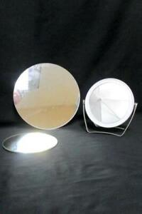 Hanging-Mirrors-amp-Handheld-Mixed-Lot-of-3-Round-Modern-Wall-Mounted-Tabletop