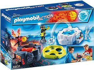 PLAYMOBIL-6831-Fire-y-Ice-Accion-Game-Nuevo-Caja-orig