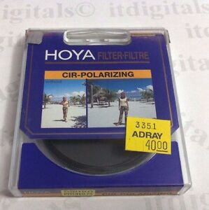 Genuine Hoya 55mm Circular Polarizing CPL Polarizer Glass Lens Filter 55 mm PL