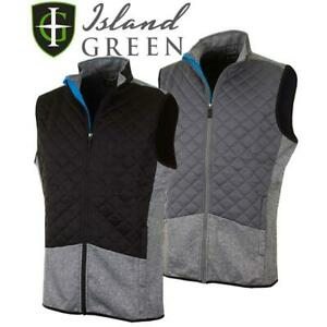 ISLAND-GREEN-LIGHTWEIGHT-THERMAL-PADDED-GILET-MENS-GOLF-VEST-40-OFF