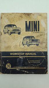 leyland motor corp mini workshop manual all models 9780909703141 ebay rh ebay com au leyland mini workshop manual leyland mini 1275e workshop manual