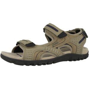 Details zu GEOX U Strada D Schuhe Herren Sandalen Trekking Sandaletten U8224D050AUC0829