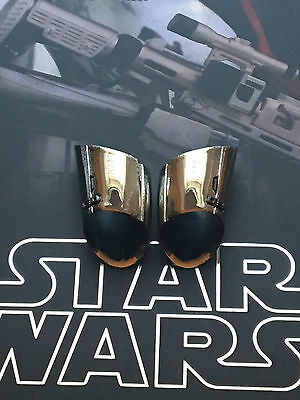 Hot Toys star wars the force réveille le capitaine Phasma biceps armour loose échelle 1//6