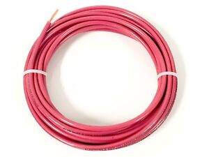 15' FEET THHN THWN-2 8 AWG GAUGE RED STRANDED COPPER BUILDING WIRE VW-1