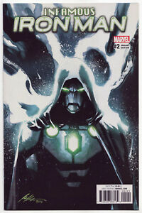 Now Infamous Iron Man # 1 Mckone Variant Cover Marvel NM