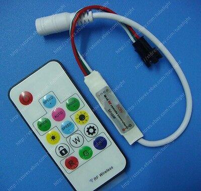SP103E Mini-RF wireless remote controller for led strip WS2811/WS2812B