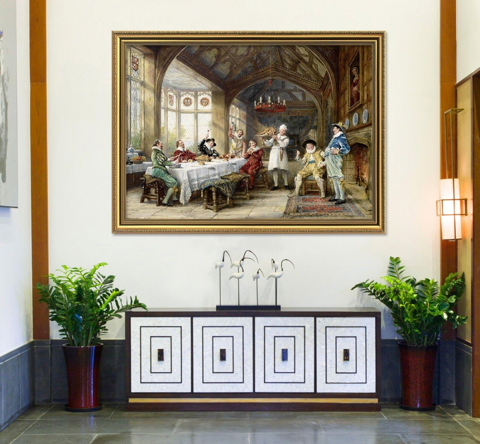 3D cena de hombre 67 Póster Enmarcado Decoración del Hogar Pintura de Impresión Arte AJ Wallpaper