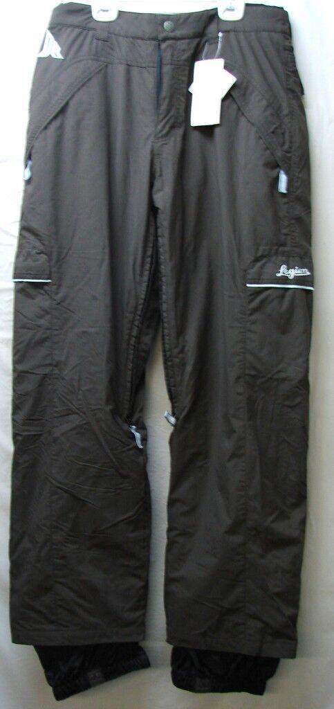 Spyder Legion Ladies Snow Ski Pants NEW marrone Large NEW Pants ce13d0