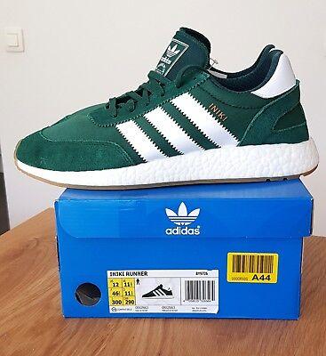 Adidas Iniki Collegiate Green White Gum i 5923   46 23 EU 12 US 11.5 UK   eBay