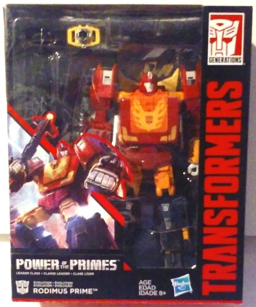Transformers Generations Power of The Primes Leader Class Rodimus Prime New MISB