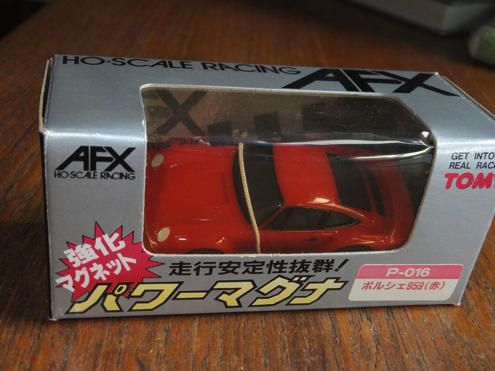 AFX, BOXED JAPAN PORSCHE P-016 parfait, Ho Ho Ho AURORA FALLER Tomy Tyco japonais 4405e2