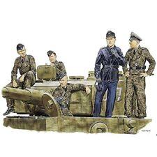 Pz-Besatzung 5 Zvezda 1:35 WWII Fig-Set Dt
