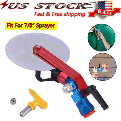 Lightweight Metal Edge Paint Guide Tool Spray Shield Overspray Protection 36 in