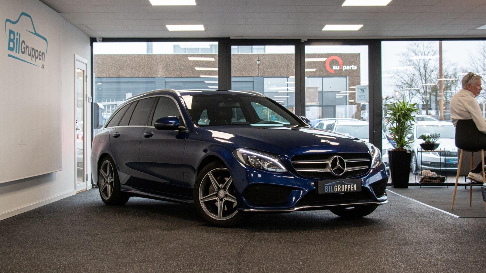 Mercedes C220 d 2,2 AMG Line stc. aut. 5d - 1.799 kr.