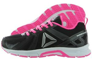 reputable site 14ad8 f0f45 Image is loading Reebok-Runner-MT-Coal-Black-Poison-Pink-White-