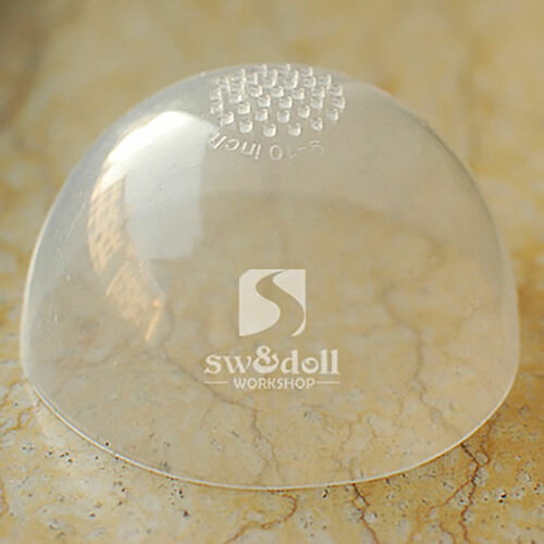 """5 pcs 6-7/"""" Silicon Wig Cap for MSD 1//6 Bjd  Doll Head Protection Cover"""