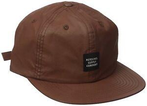 b43ebae99ab NWT Herschel Supply Co. Men s Albert Caramel Carbon Coated Hat