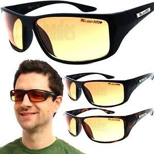 6370a75646c X-Loop HD Wrap Sunglasses Mens Golfing Fishing Glasses Sports Shades ...