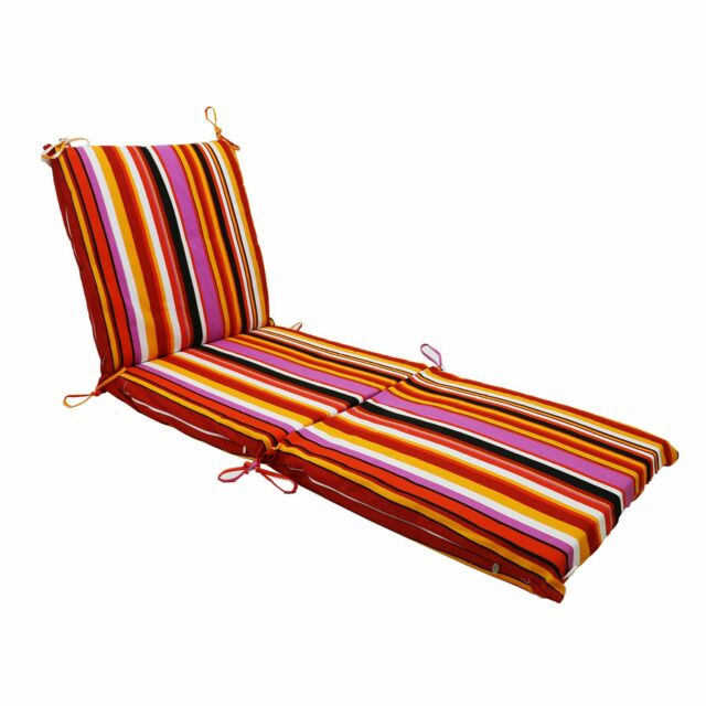 Swell Outdoor Patio Garden Dining Back Chair Seat Cushion 3 Thickness Rainbow Frankydiablos Diy Chair Ideas Frankydiabloscom