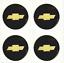 "thumbnail 1 - 4 NEW Wheel Center Cap Logo Sticker Decal Emblem 3.5"" 88mm CHEVY CHEVROLET"