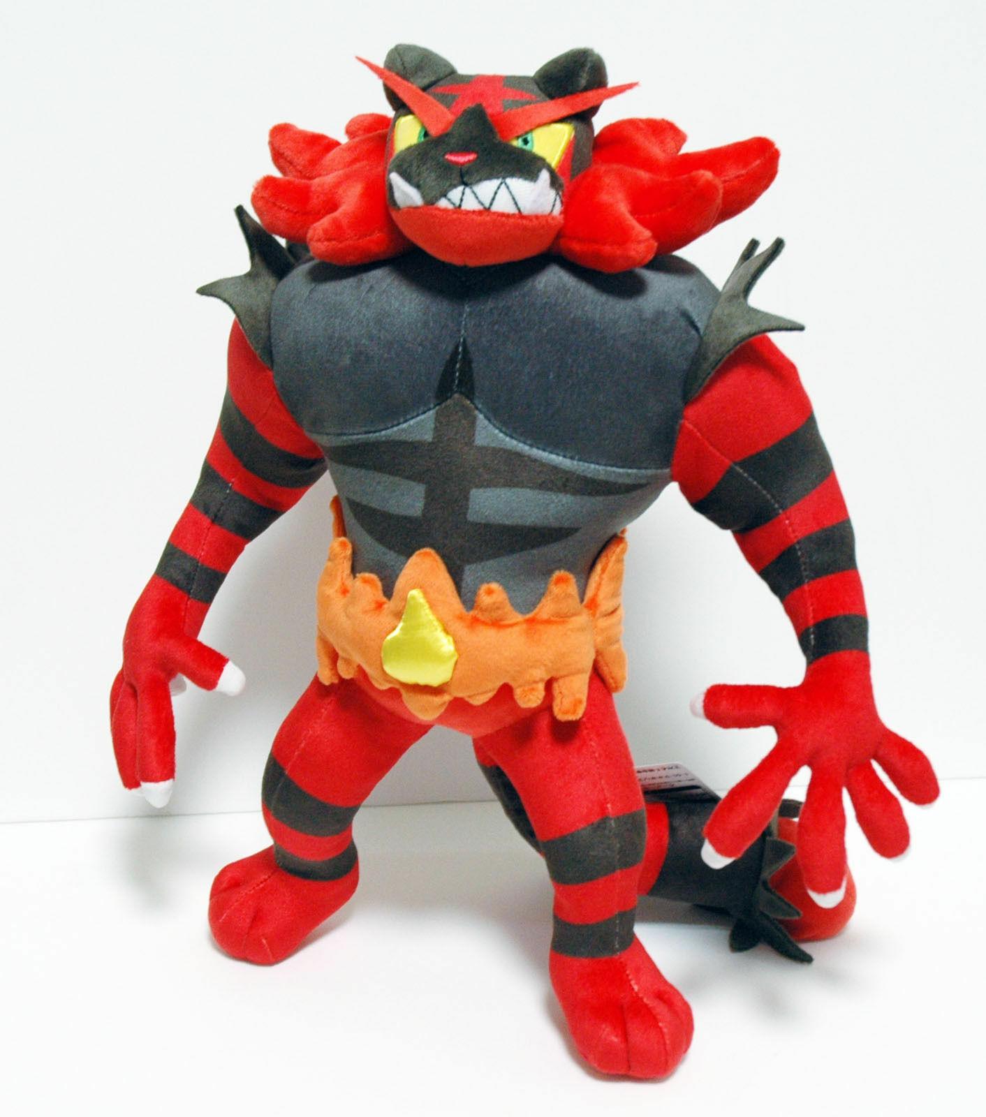"""Incineroar Plush Soft Toy Doll Stuffed Animal Teddy 13.5/"""""""