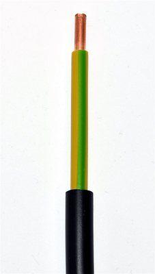 Erdkabel NYY-J 1x16 mm² schwarz Erdungskabel Blitzschutz grün/gelb Schnittlängen