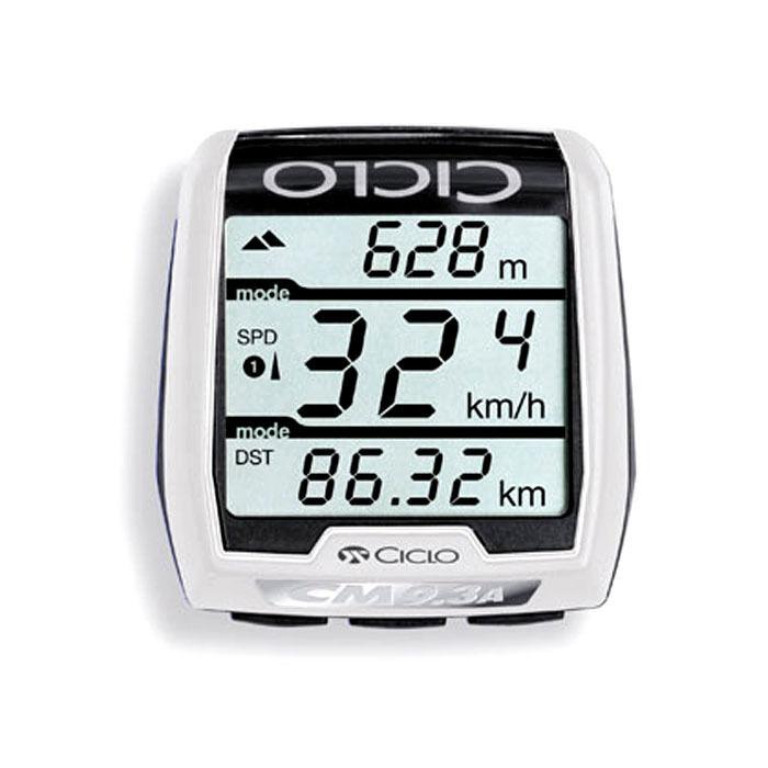 Cycle Computer Ciclosport cm 9.3 Ahr Belt Altimeter Radio-Bike Speedometer PC